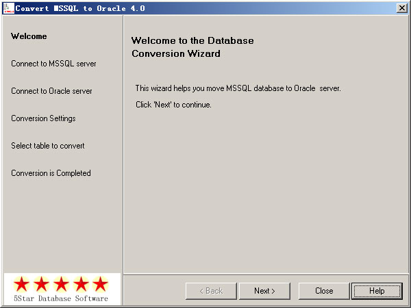 Click to view Convert MSSQL to Oracle 4.0 screenshot